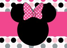 Minnie Mouse Face Printable Disneyland Pinterest Minnie - Minnie mouse birthday invitations blank