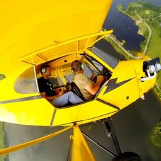 GoProEssentials.com J3 Cub, Piper Aircraft, Gopro Action, Airplane Flying, Diving, Tractors, Pilots, Airplanes, Vehicles