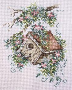 birdhouse+cross+stitch | Crafts N Cross Stitch