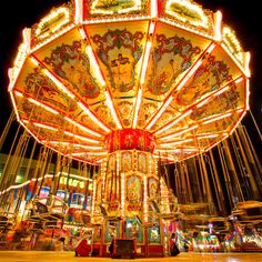 Carnival Carousel Merry Go Round Photograph by PhotographsareArt, $15.00
