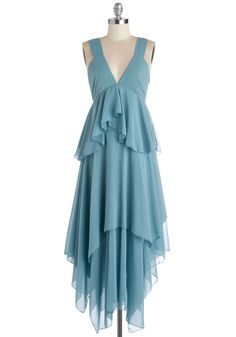It looks like it's pulled right from A Midsummer Night's Dream! Blue Ridge Beauty Dress, #ModCloth