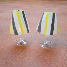 Dollar Store Crafts » Blog Archive » Tutorial: Plastic Jug Mini Lamps