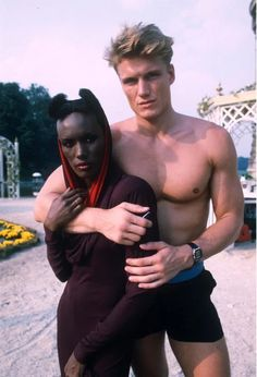 Wild Sex parties, Drugs and Rock & Drago — Dolph Lundgren reveals all ahead of Creed II in which he returns as Ivan Drago Dolph Lundgren Grace Jones, Afro, Best Supporting Actor, Movie Facts, Hippie Life, Sylvester Stallone, Movie Photo, Hollywood Actor, Cinema