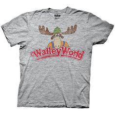 Ripple Junction Men's Vacation Wally World Logo T-Shirt