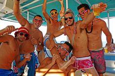 """Fête en bateau """"beautiful people"""", Une grande fête qui réunit chaque été 150 personnes direction Formenta !"""