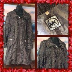 MICHAEL Michael Kors Jackets & Blazers - 💞MICHAEL Michael KORS💞snake trench rain coat