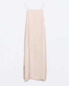 Image 5 of SLIP DRESS WITH SLITS from Zara