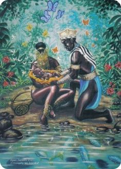 Oshun and Child