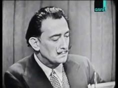 "▶ Surreal Salvador Dali interview on ""Whats My Line"" Figueras, What's My Line, Salvador Dali Art, High School Art Projects, Up Book, Middle School Art, Ap Art, Art Lesson Plans, Art Classroom"