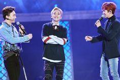 EXO-CBX - 161118 N-POP Showcase  Credit: Diamond Dust.