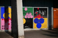 """poster/affiche by Classmate studio (Hungary/Hongrie, Budapest) – """"Debrecen (European Capital of Culture) Graphic Design Posters, Modern Graphic Design, Poster Designs, Identity Design, Visual Identity, Personal Identity, Poster S, Poster Prints, Outdoor Signage"""