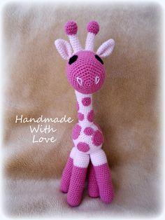 Crochet Baby Girl Giraffe ღ