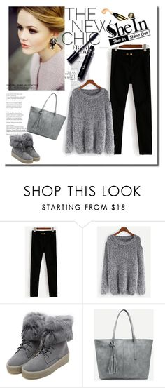 """""""SheIn 2/II"""" by hedija-okanovic ❤ liked on Polyvore featuring WithChic and Sheinside"""