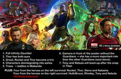 [SPOILERS] Who'd have thought that you can see the whole plot in the very first official Infinity War poster!