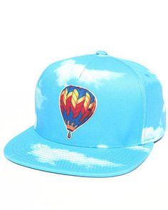 Odd Future Apparel Men Balloon Kitty Snapback Hat Blue 1SZ