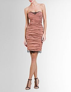 I tried this one on in NYC and really liked it. Would have to be tan to pull off this color though.
