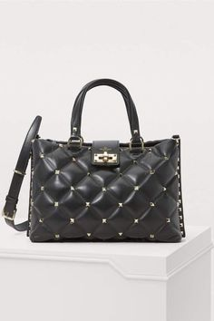 Buy Valentino Valentino Gavarani quilted handbag online on 24 Sèvres. Shop the latest trends - Express delivery & free returns Valentino Clothing, Valentino Shoes, Valentino Rockstud, Valentino Women, Leather Ankle Boots, Calf Leather, Valentino Perfume, Satchel