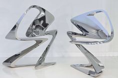 Z-Chair / Zaha Hadid - hard to see how one would sit on it - and it looks very uncomfortable too