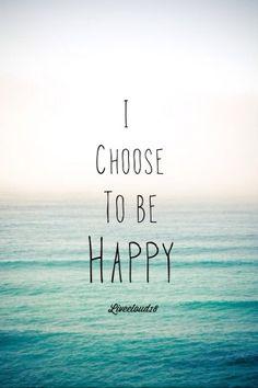 gelukkig zijn is effectief een keuze
