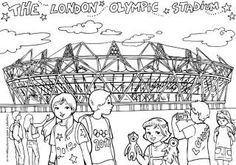 Activity Village Summer Olympics - Colouring pages, printables (medals, story paper, and writing paper, etc.), famous olympians posters, crafts, puzzles, worksheets, map of Olympic Venues in London, etc.