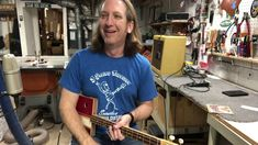 3 String Thursday with Mike Snowden Herrera Esteli Cigar Box Guitar Cigar Box Guitar, Cigars, Thursday, Mens Tops, Smoking, Cigar