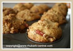 Fresh Rhubarb Recipe for Muffins - Moist and Delicious