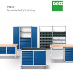 Bott Verso+ te bestellen bij Instra werkplaatsinrichtingen