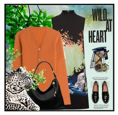 """""""Wild At Heart"""" by nightowl59 ❤ liked on Polyvore featuring Victoria, Victoria Beckham, Lucien Pellat-Finet and Michael Kors"""