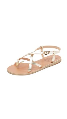 Ancient Greek Sandals Semele Sandals - Platinum | SHOPBOP.COM saved by #ShoppingIS