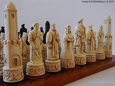 Historical Chess Sets - Theme Chess Sets - Beautiful Chess Sets