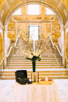 Photography: Hello Love Photography - www.hellolovephoto.com  Read More: http://www.stylemepretty.com/2015/04/20/elegant-wedding-in-the-boston-public-library/