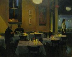 """Dinner by Candlelight II"" - Original Fine Art for Sale - © Kathy Weber"