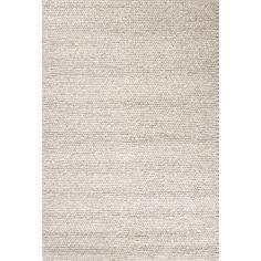 Jaipur Rugs Textured Toneontone Pattern Gray Wool Area Rug SCD08 (Rectangle)