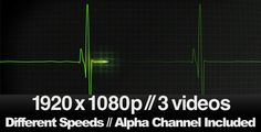 3 EKG Heatbeat Display Monitor Videos