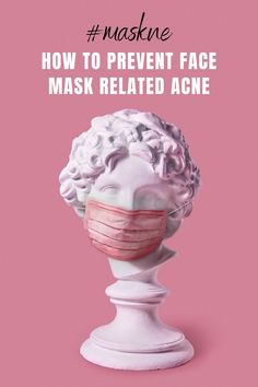 As face masks become a part of our daily life, here's how to prevent your skin from suffering collateral damage like maskne (face mask related acne) and increased sensitivity. Acne Face Mask, Diy Face Mask, Face Masks, Face Mapping, Acne Causes, Clean Pores, Spot Treatment, Bright Skin