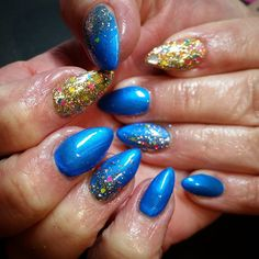 Our very popular Andromeda with some snazzy nail art