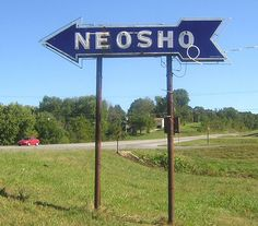 Neosho, Missouri - there wasn't much to see when I went there for work twice