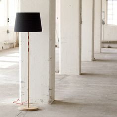 Sjöhaga Floor Lamp Dark Grey now featured on Fab.
