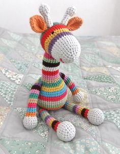 Download Stripy Giraffe Amigurumi Pattern (FREE)