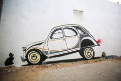 150 artistes investissent un village tunisien pour le transformer en véritable musée du street art à ciel ouvert | Daily Geek Show