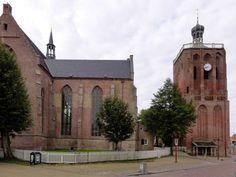 Workum (Warkum) - Grote- of Sint Gertrudiskerk