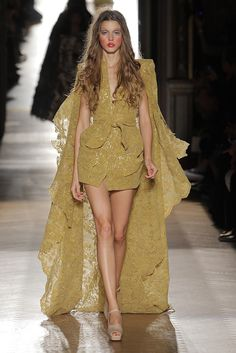 Look 55 at Vivienne Westwood #SS15 Gold Label