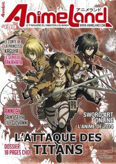 Animeland 199, juillet-août 2014