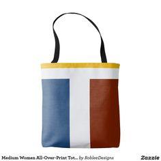 Medium Women All-Over-Print Tote Bag