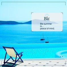 Right?  #BleSummer #ILoveGreece #INeedSomeHolidays #GreekIslands Greek Islands, Peace Of Mind, Wind Turbine, Greece, My Love, Quotes, Summer, Movie Posters, Ideas