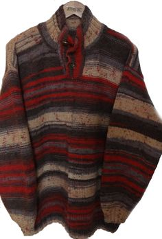 Вещи ручной работы (Hend made). Мужской пуловер.