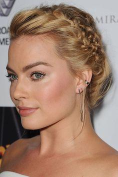 Margot Robbie - The 14 Best Braids of 2014 - Best Celebrity Braids and Hairstyles