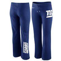 New York Giants '47 Brand Womens Pep Rally Pants �C Royal Blue ...