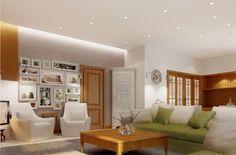Beautiful and Amazing Interior Design Comes with the Creative Idea: Cozy Living Room Design Brilliant Lit Interior Visualizations ~ anahitafurniture.com Interior Design Inspiration