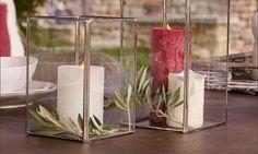 Ihr habt Lust auf romantische Stimmung in der Wohnung oder auf dem Balkon? Sichert euch das LOBERON Windlicht Angebot: Wunerschönes 2er-Set 40% günstiger!